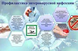 Профилактики энтеровирусной инфекции