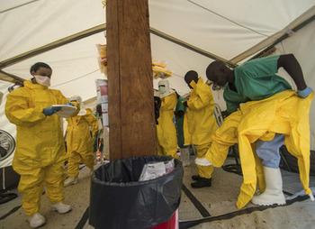 ВОЗ организует экстренное заседание в связи с вспышкой Эбола