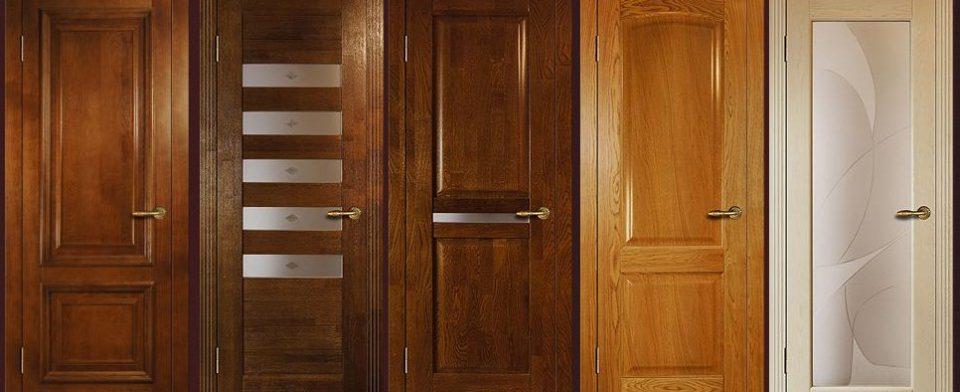 Критерии подбора дверей из массива