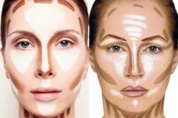 Как скорректировать лицо с помощью макияжа